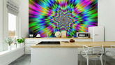 Rainbow Star Wall Mural • Pixers® - We live to change