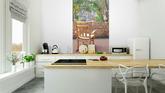 Schommelstoel Op Balkon : Fotobehang schommelstoel op het balkon u pixers we leven om te