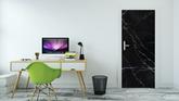 Sticker fond de texture marbre noir marquina u2022 pixers® nous vivons