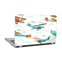 Naklejka dla ucznia - Retro samoloty