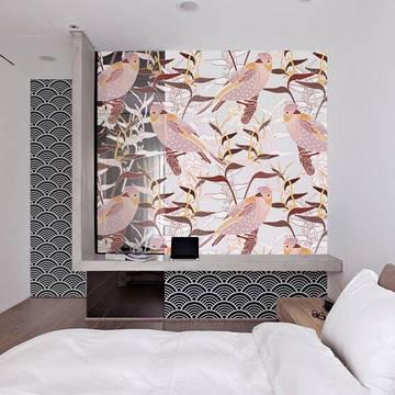 Carta da Parati & adesivo per camera da letto - Stile giapponese