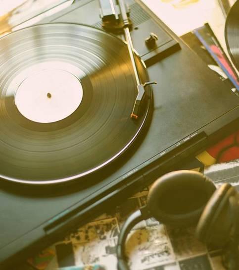 Vintage ortam müziği