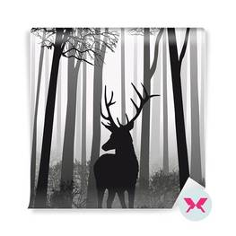 Fototapeta - Jelen v lese