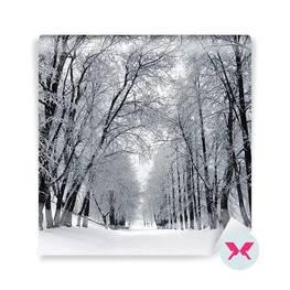 Fototapeta - Pejzaż zimowy
