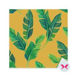 Naklejka - Bananowe liście