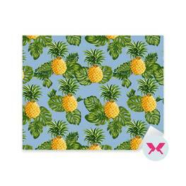 Nálepka - Ananas a tropické listy
