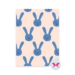 Dekor för småbarn - Kaninmönster