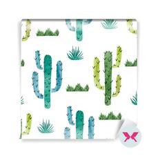 Fototapeta dla przedszkolaka - Akwarelowe kaktusy