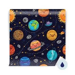 Fotomural para estudiante - Planetas, estrellas y cometas