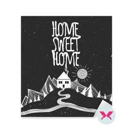 Naklejka - Nie ma to jak w domu