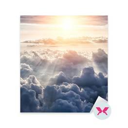 Naklejka - Piękne błękitne niebo