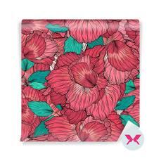 Duvar Resmi - Çiçekli Süsleme Desen