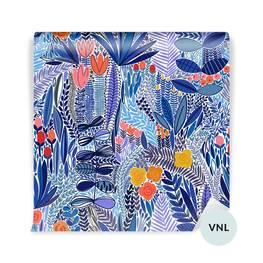 Duvar Resmi yemekhane - Tropikal çiçek deseni