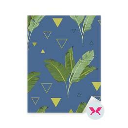 Dekor - Tropiska Palmblad Bakgrund