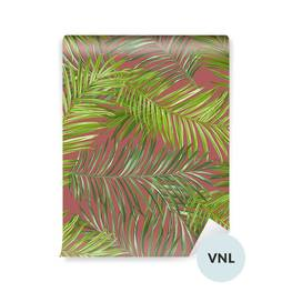 Wallpaper - Tropical Palm Leaves Background