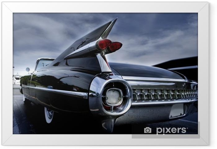 Plakat w ramie Lampa ogona Classic Car - Tematy