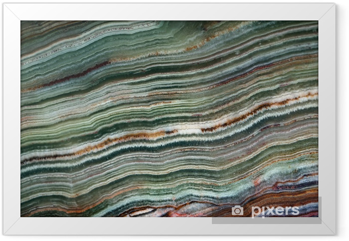 Texture of gemstone onyx Framed Poster - Graphic Resources