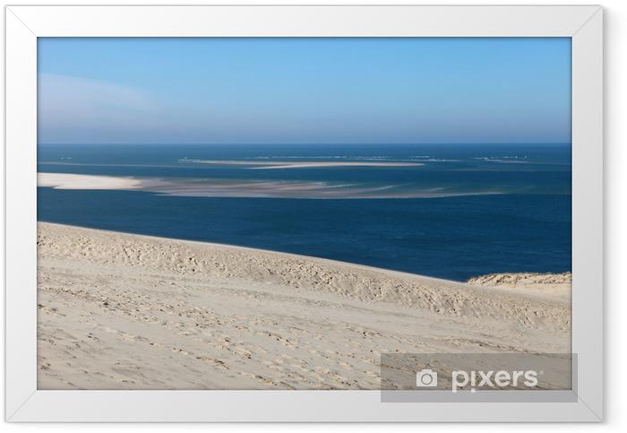 Poster en cadre Dune du pyla - Eau