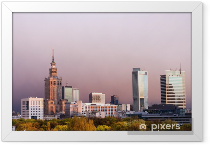 The City of Warsaw Framed Poster - Themes
