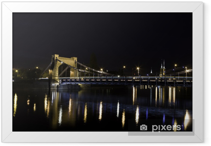 Poster en cadre Wroclaw - Grunwald pont - Thèmes
