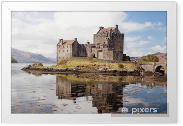 Eilean Donan Castle Scotland Panorama Framed Poster - Themes