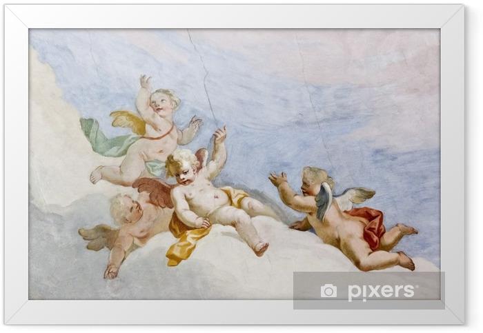 Fresco Wieskirche Framed Poster - Themes