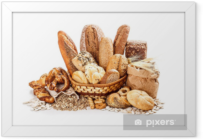 Bread and rolls Framed Poster - Themes