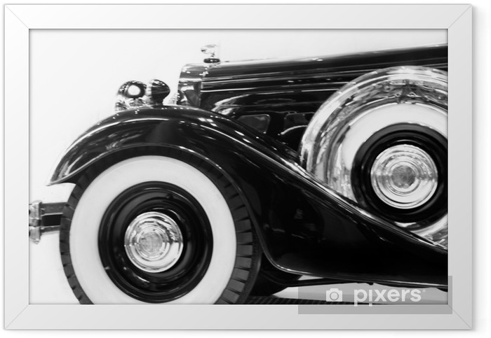 Deutscher Luxus-Oldtimer Framed Poster - Themes