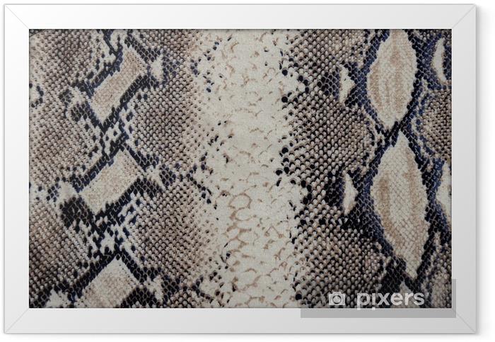 Poster en cadre Tissu peau de serpent - Ressources graphiques