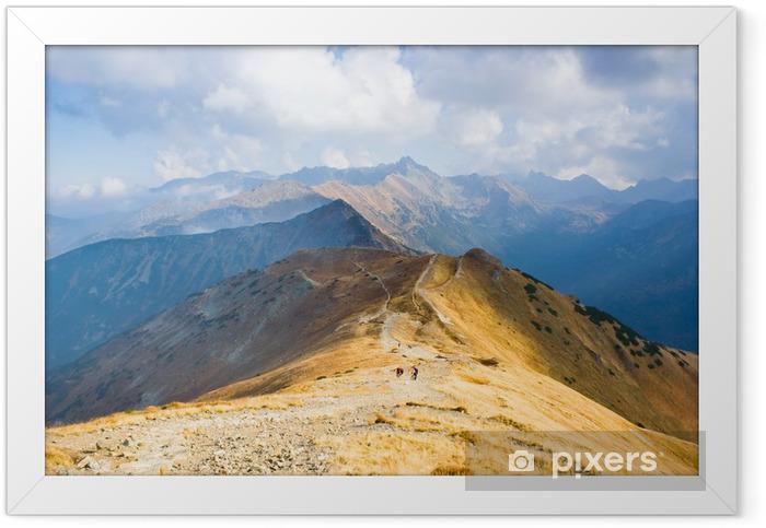 Czerwone Wierchy, Tatra Mountains, Poland Framed Poster - Seasons