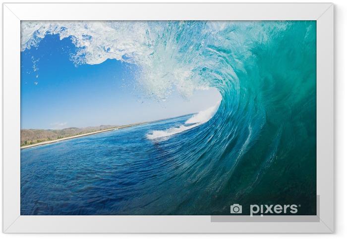 Plakat w ramie Fal oceanicznych - Morze i ocean