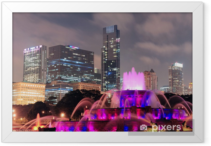 Chicago Framed Poster - Themes