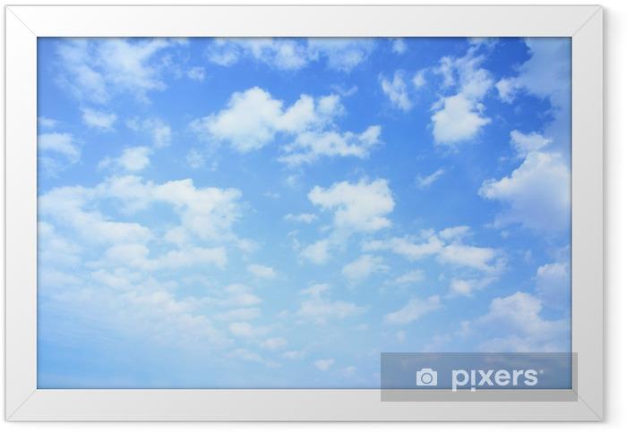 Plakat w ramie Niebo i chmury - iStaging
