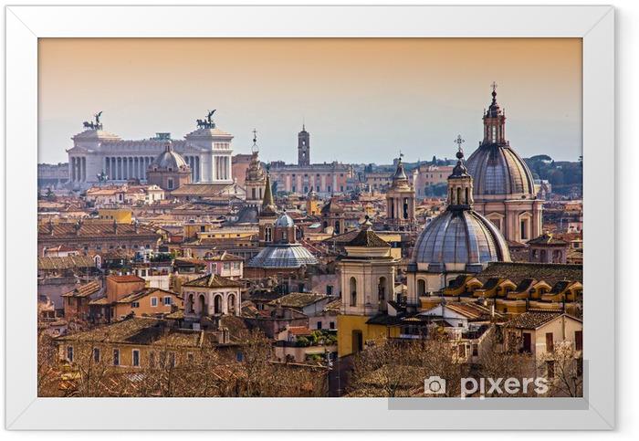 Plakat w ramie Rzym - Tematy