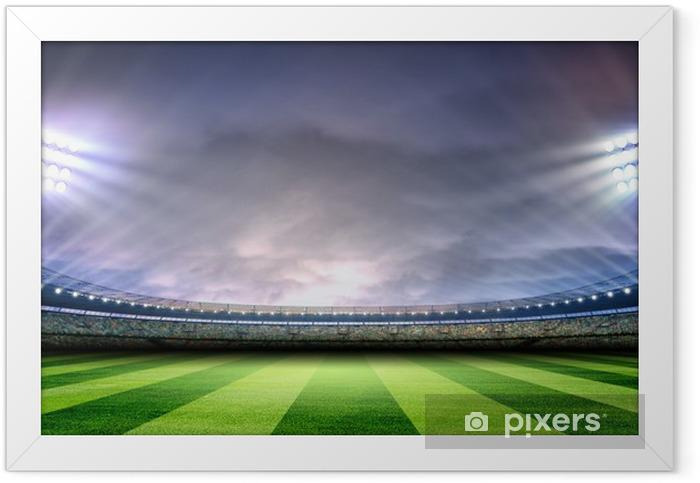 Stadium Framed Poster - American football