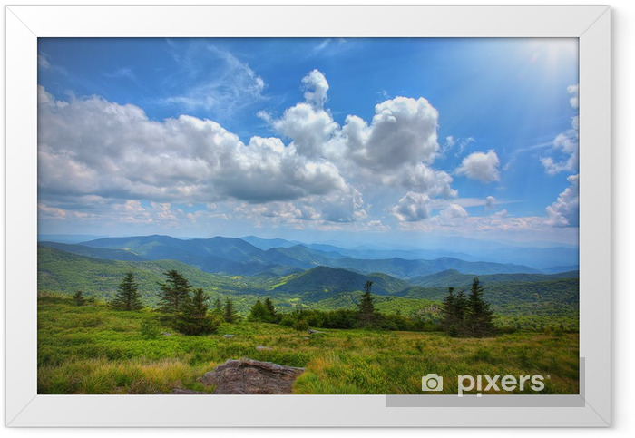 Appalachian trail Framed Poster - Countryside