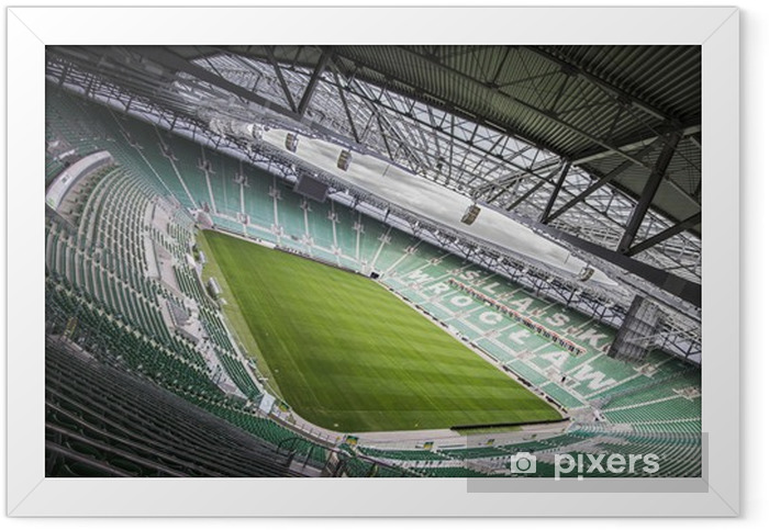 Poster en cadre Stade INEA nous Wrocławiu - Thèmes