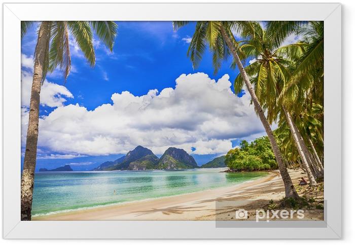 idilyc tropics Framed Poster - Holidays