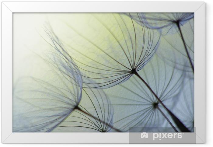 Dandelion seed Framed Poster - Landscapes