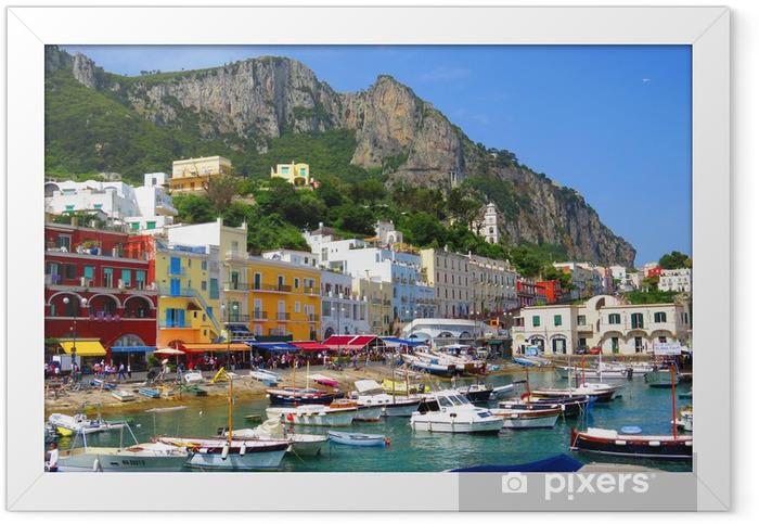 Ile de Capri, Italie, Europe Framed Poster - European Cities