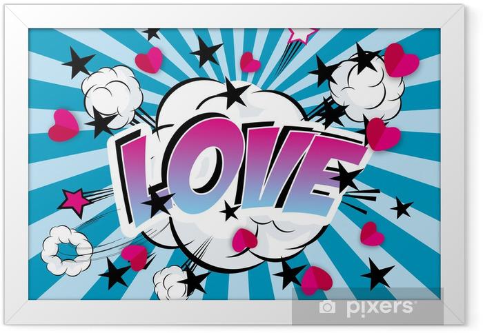Poster en cadre Love4 - Thèmes