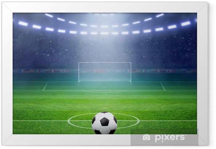 Soccer stadium Framed Poster - Destinations