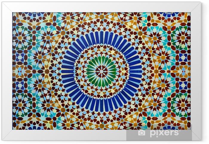 Plakat w ramie Oriental dekoracja - Maroko