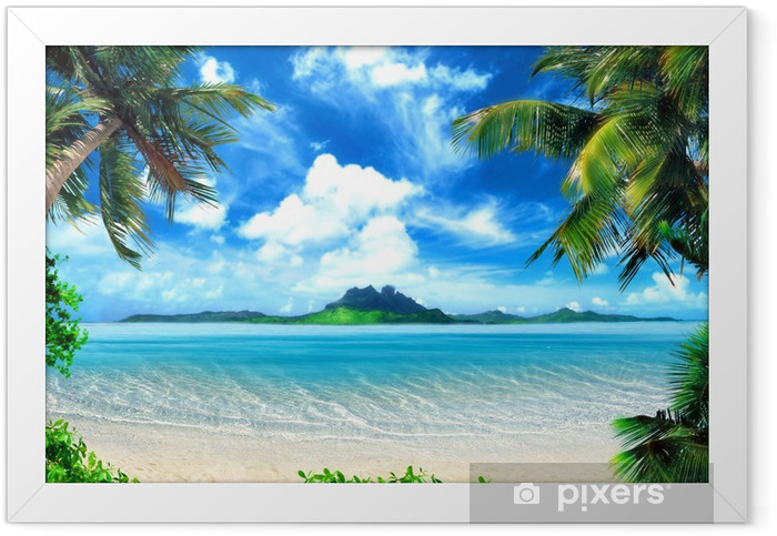 magical coast Framed Poster - Themes
