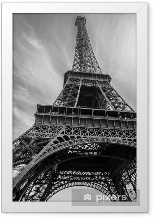 Eiffel Tower Framed Poster - Buildings and Architecture