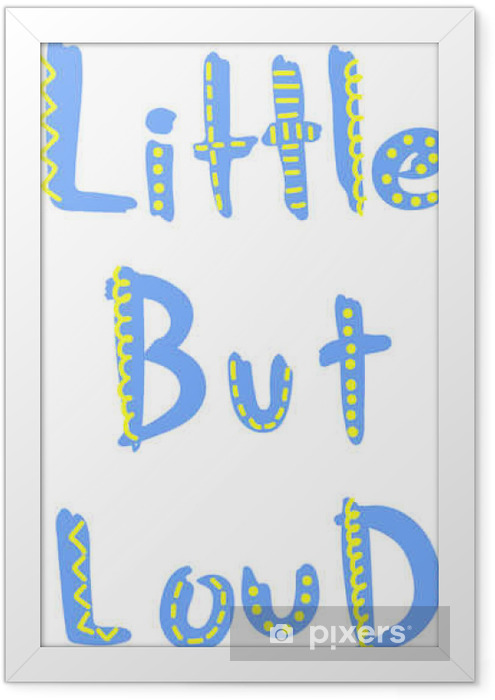 cool slogan, typography graphic for t-shirt Framed Poster - Graphic Resources