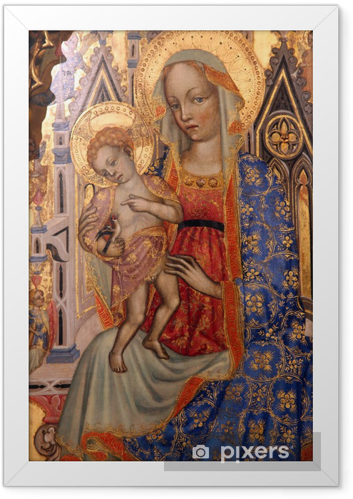 Madonna with Child Framed Poster - Themes