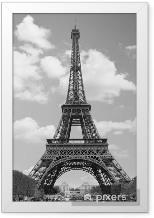 Ingelijste Poster Eiffel tower - Thema's