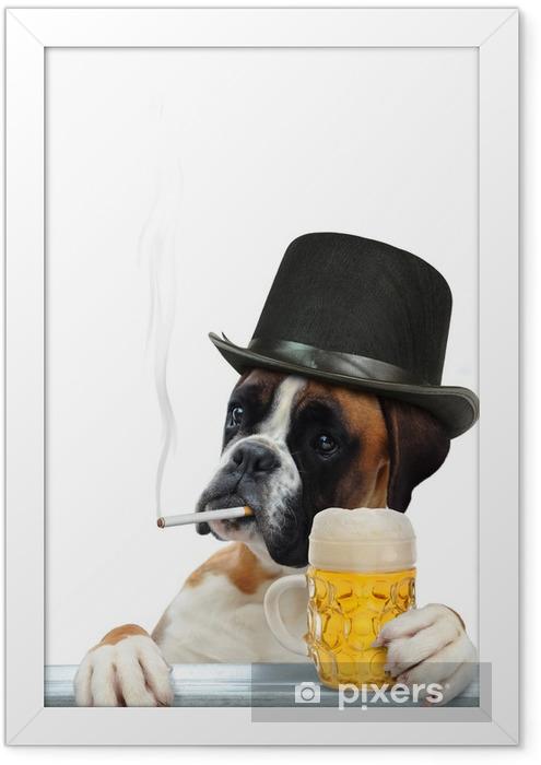 Boxer 298 Framed Poster - Mammals