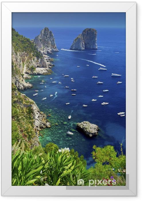 Capri Framed Poster - Themes